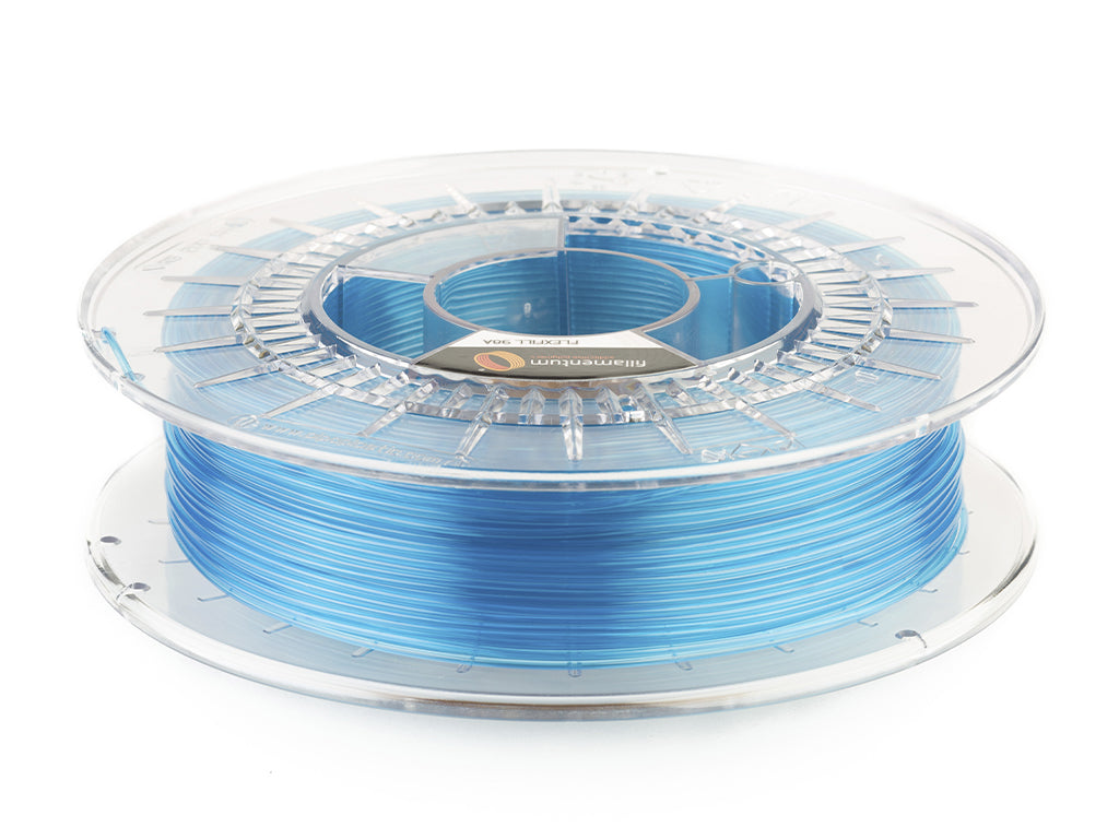 "Flexfill TPU 98A ""Blue Transparent"""