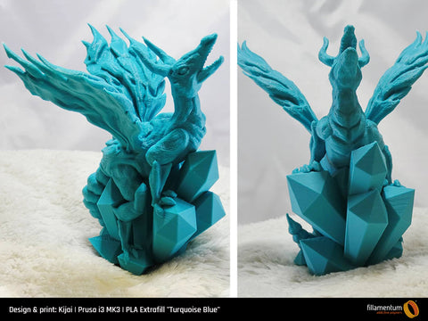 "PLA Extrafill ""Turquoise Blue"""