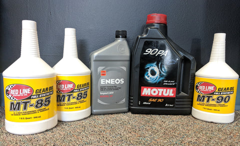 Drivetrain Fluid Service - Evo X GSR / Final Edition