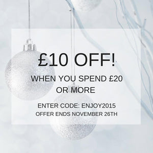 We're Feeling Generous... Here's a £10 Pre Christmas Voucher