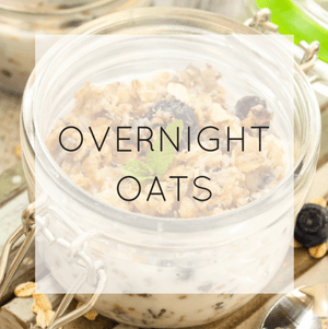 Overnight Oats - Easy Healthy Breakfast