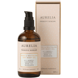 Firm & Revitalise Dry Body Oil (100ml) Bath & Body Aurelia Probiotic Skincare