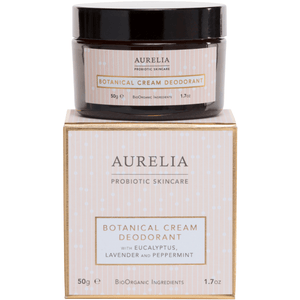 Botanical Cream Deodorant (50g) Bath & Body Aurelia Probiotic Skincare