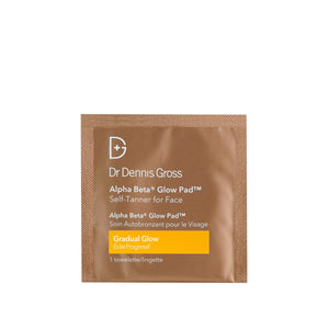 Alpha Beta Gradual Glow Pad Face Sample Skincare Sample