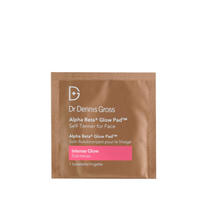 Alpha Beta Intense Glow Pad Face Sample Skincare Sample