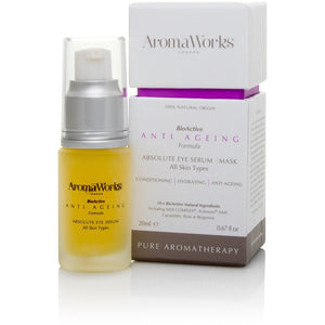 Absolute Eye Serum Mask SkinCare Aroma works