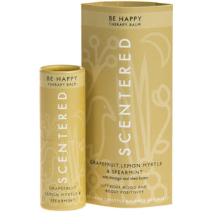 Be Happy Therapy Balm (5g) wellness SCENTERED