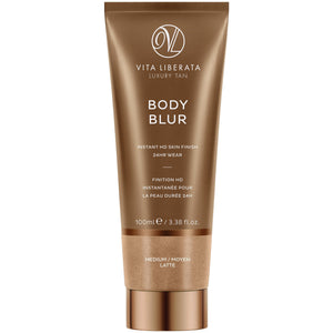 Body Blur Instant Skin Finisher Latte (Medium) (100ml) Bath & Body, Moisturisers, Self Tan & Bronzer vita liberata