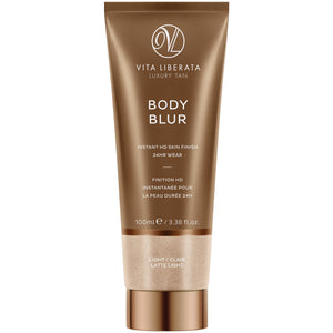 Body Blur Instant Skin Finisher Latte (Light) (100ml) Bath & Body, Moisturisers, Self Tan & Bronzer vita liberata
