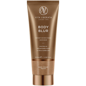Body Blur Instant Skin Finisher Mocha (Dark) (100ml) Bath & Body, Moisturisers, Self Tan & Bronzer vita liberata