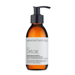Detox Botanical Bathing Infusion - Bath and Shower Oil (150ml) Bath & Body Elemental Herbology