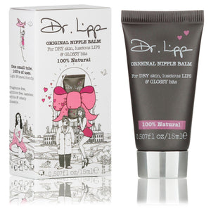 Original Nipple Balm for Dry Skin, Luscious Lips and Glossy Bits (15ml) SkinCare Dr Lipp