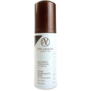 Fabulous Tinted Self Tan Mousse - Dark (100ml) Bath & Body, Moisturisers, Self Tan & Bronzer vita liberata