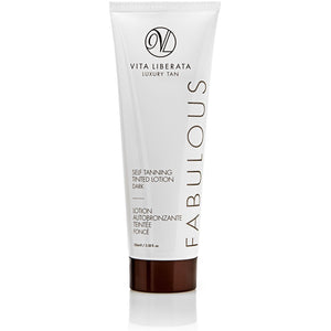 Fabulous Tinted Self Tan Lotion - Dark (100ml) Bath & Body, Moisturisers, Self Tan & Bronzer vita liberata