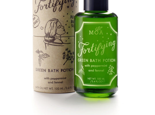 Fortifying green bath potion (100ml)