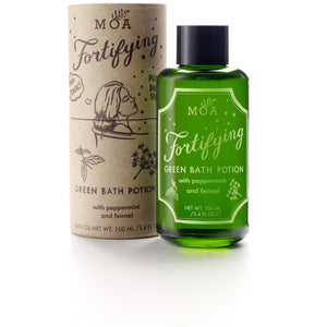Fortifying green bath potion (100ml) Bath & Body MOA
