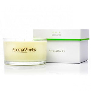 Inspire 3wicks Candle Home Fragrance Aroma Works