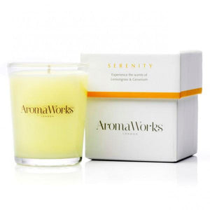 Serenity Candle 10cl Home Fragrance Aroma Works