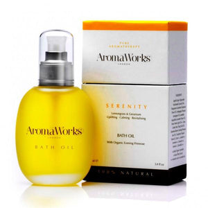 Serenity Bath Oil Wellbeing Aroma Works