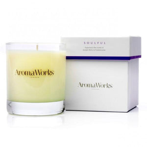 Soulful Candle 30cl Home Fragrance Aroma Works
