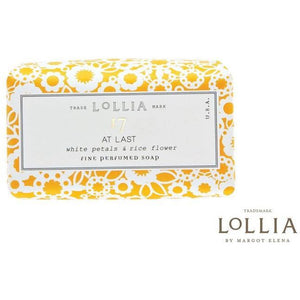 Lollia At Last Shea Butter Soap Bath & Body Lollia