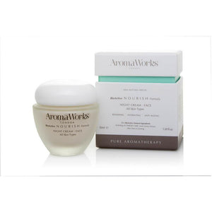 Nourish Night Cream (50ml) SkinCare Aroma Works
