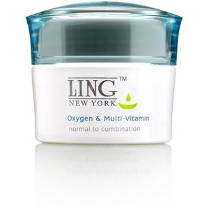 OXYGEN + MULTI-VITAMIN NOURISHMENT FOR DRY & DEHYDRATED Skincare Ling skincare