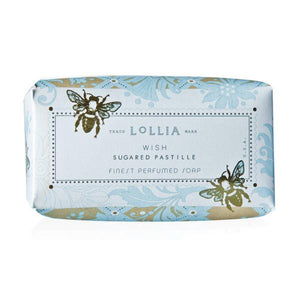 Lollia Wish Shea Butter Soap Bath & Body Lollia