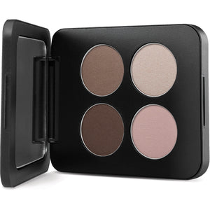 Shanghai Nights Pressed Mineral Eyeshadow Quad makeup youngblood mineral cosmetics