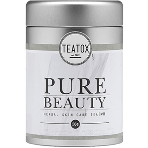 Teatox Pure Beauty Herbal Skincare Tea (50g) Wellbeing Teatox