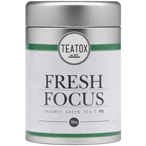 Fresh Focus Organic Green Tea With Gingko (50g) detox & cleanse Teatox