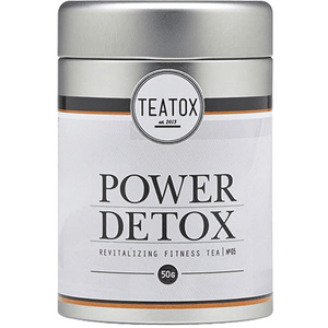 Power Detoc Organic Green Tea With Guaran (50g) detox & cleanse Teatox