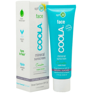 Mineral Cucumber Face SPF 30 (50ml) sunscreen Coola