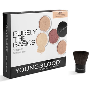 Purely the Basics Kit makeup youngblood mineral cosmetics Light