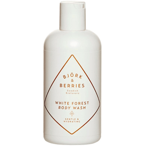 White Forest Body Wash ( 250ml ) Bath & Body Bjork & Berries