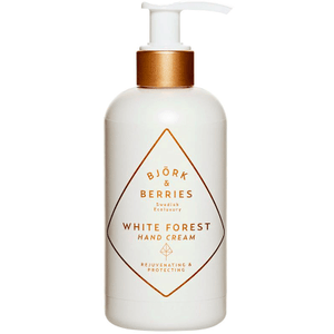 White Forest Hand Cream ( 250ml ) Bath & Body Bjork & Berries