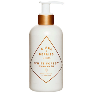 White Forest Hand Wash ( 250ml ) Bath & Body Bjork & Berries
