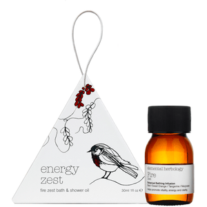 Fire Zest Bath & Shower Oil (30ml) Bath & Body Elemental Herbology