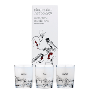 Elemental Candle Trio (3x70g) Candles Elemental Herbology