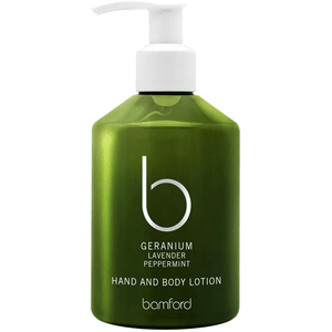 Geranium Hand and Body Lotion (250ml) Bath & Body Bamford