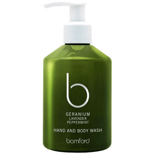 Geranium Hand and Body Wash (250ml) Bath & Body Bamford