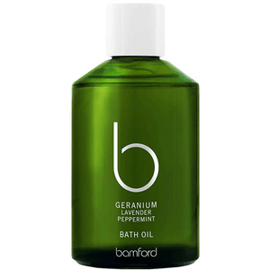 Geranium Bath Oil (250ml) Bath & Body Bamford
