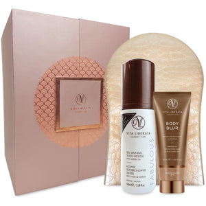 Fabulously Flawless 3 Piece Luxury Tan Set self tan & bronzer vita liberata