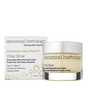 Vital Glow Overnight Resurfacing Cream (50ml) SkinCare Elemental Herbology