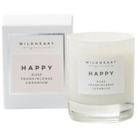 Happy Spa Single Wick Candle (160G) Home Fragrance Wildheart Organics