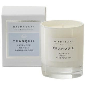 Tranquil Spa Single Wick Candle (410G) Home Fragrance Wildheart Organics