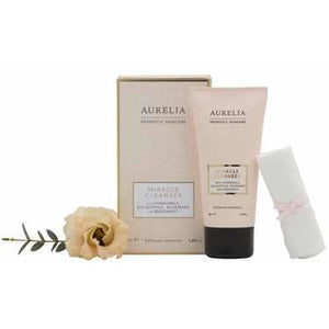50ML MIRACLE CLEANSER & MUSLIN Gifts Aurelia Probiotic Skincare