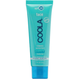Classic Face Sunscreen SPF 30 Unscented (50 ml) sunscreen Coola