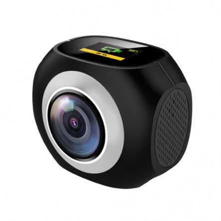 MiView EKEN PANO-360 Dual lens 360° Camera with tripod/stick