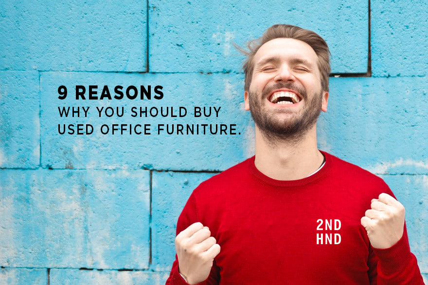 9 reasons you should buy used office furniture.